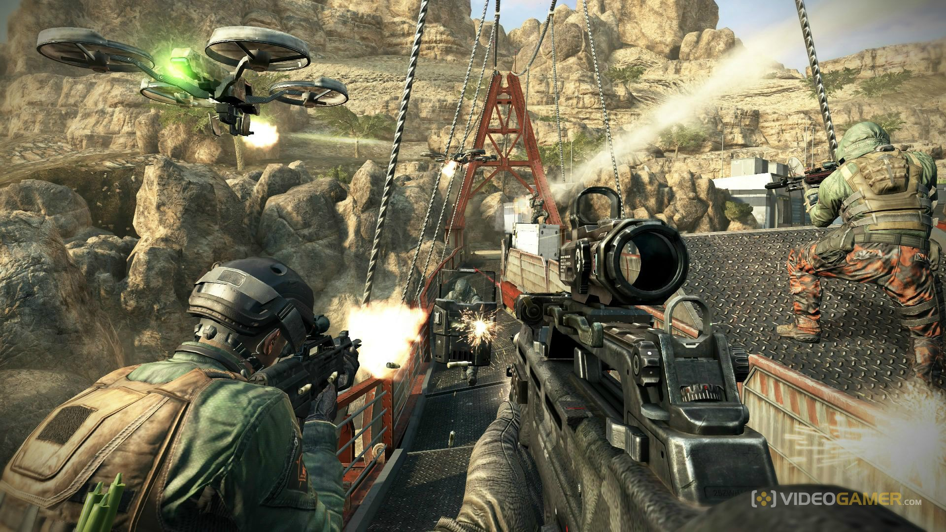call-of-duty-black-ops-2-attacking-enemy-on-the-bridge